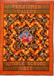 West Middle School Quilt The Quilt Cabinet