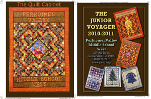 PV Yearbook The Quilt Cabinet
