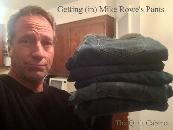 Getting (in) Mike Rowe's Pants
