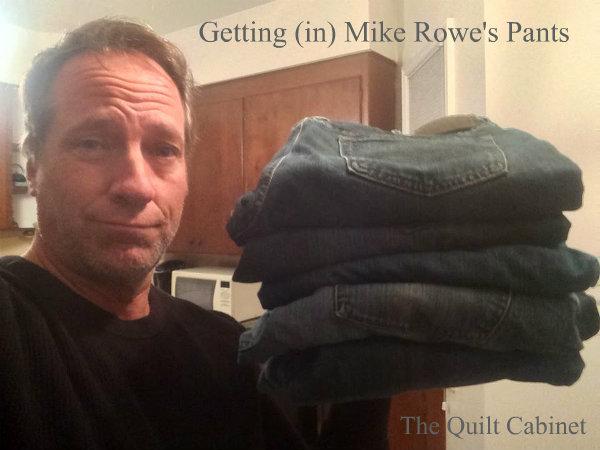Getting (in) Mike Rowe's Pants