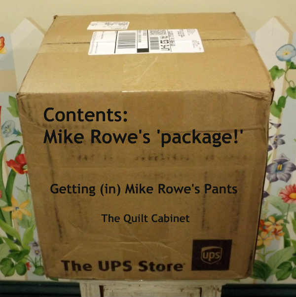 Mike Rowe's 'Package' Getting (in) Mike Rowe's Pants The Quilt Cabinet