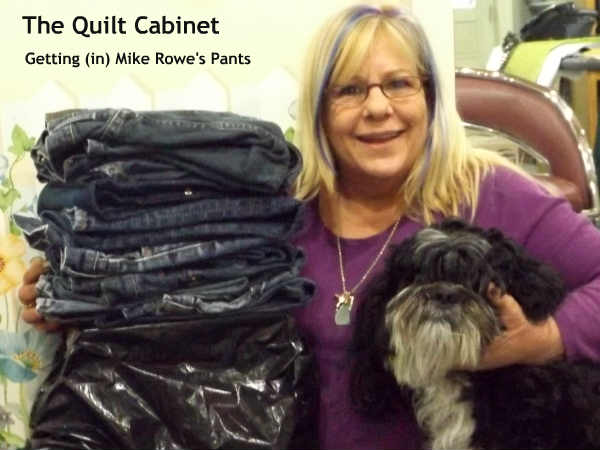 Mike Rowe's 'Package' The Quilt Cabinet