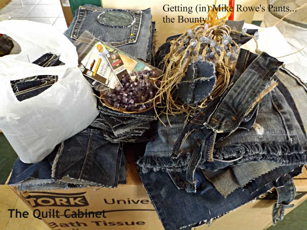 Getting (in) Mike Rowe's Pants...the Bounty The Quilt Cabinet