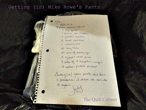 What I Got (out of)  Getting (in) Mike Rowe's Pants