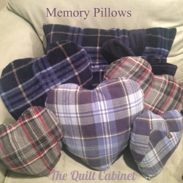 Memory Pillows @ The Quilt Cabinet