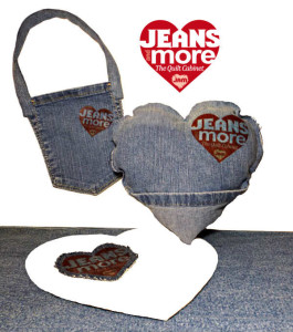 Pocket Pouch & Heart On Pillow JEANS & more
