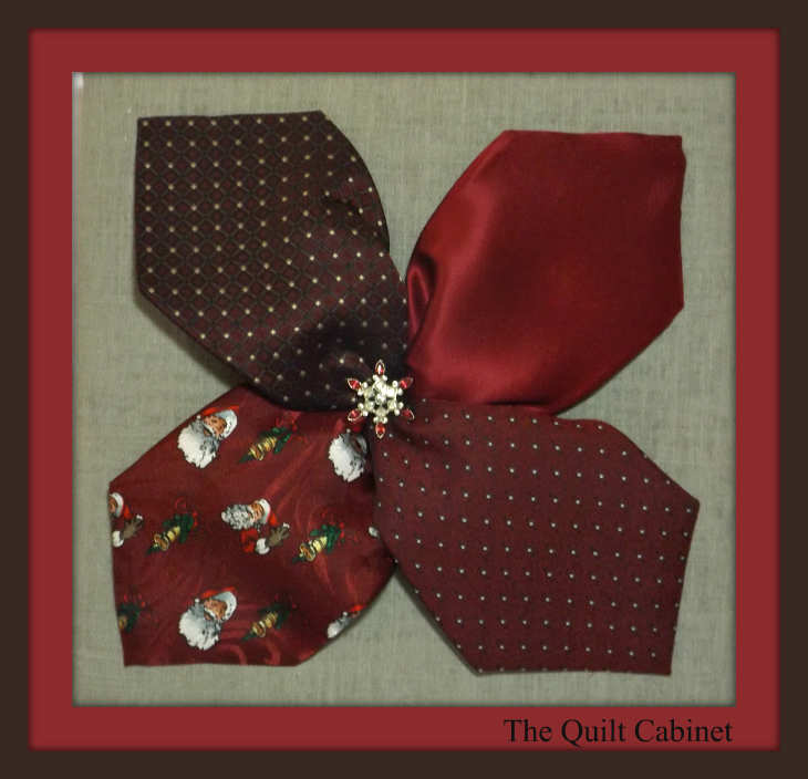Tie Art @ The Quilt Cabinet