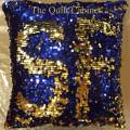 Blue-Gold Reversible Sequin SF The Quilt Cabinet